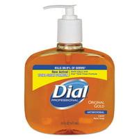 Dial, DIA80790CT, Original Gold Antimicrobial Liquid Soap, 12 / Carton, Gold