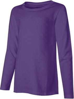 Hanes Long-Sleeve Crewneck T-Shirt (Little Girls & Big Girls)