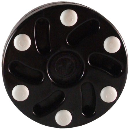 TronX S10 Inline Hockey Puck (Black)