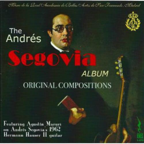 Andres Segovia Original Compositions by