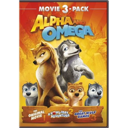 Alpha and Omega: 3-Movie Pack, Part 1 (DVD) - Halloween Town 1 Part 1