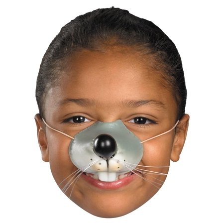 Mouse Nose with Elastic Adult Halloween - Halloween Makeup Tips Cuts
