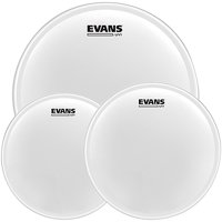 Evans UV1 Tom Pack with Free 14 in. UV1 Snare Head 10, 12, 14 in.