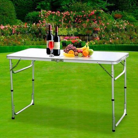 Ktaxon 3 Feet Portable Folding Table Outdoor Picnic Camping Party