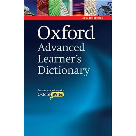Oxford Advanced Learner's Dictionary 8th Edition: Hardback with CD-ROM (includes Oxford iWriter)
