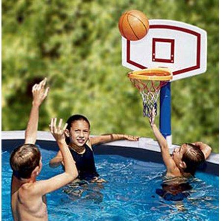 Ground Pool Basketball - Swimline 9182 Jamming Basketball Game For Above Ground Pools