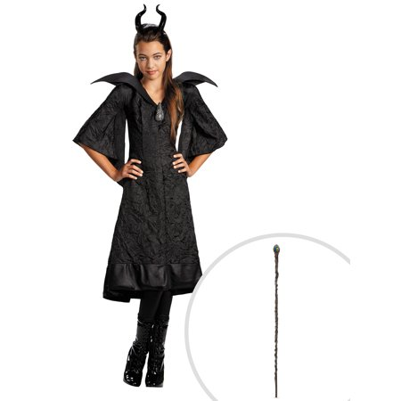 Maleficent Christening Black Gown Classic Costume for Girls and Queen Maleficent Classic 56