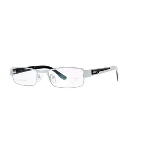 Eye Buy Express Kids Childrens Reading Glasses White Black Rectangular Anit Glare Quality (Kids Reading Glasses)