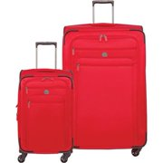 Delsey Sky Carry-on and 29 Inch - Red 2 Piece Set Spinner