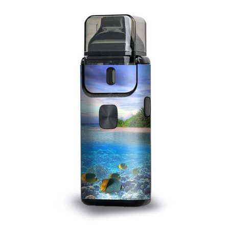 Skin Decal for Aspire Breeze 2 Vape / Underwater Snorkel Tropical Fish (Tropical Fish Island)