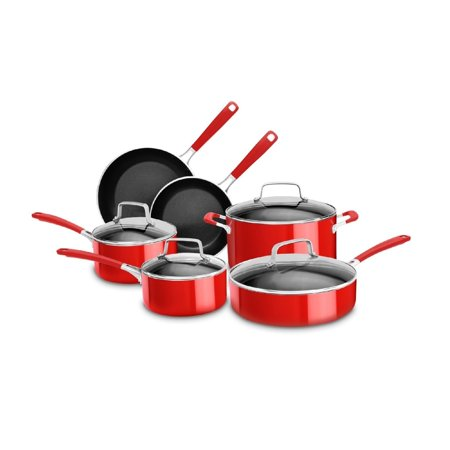 KitchenAid Stainless Steel 10-Piece Set (KC2SS10PC) (kitchen aid 10 piece set)