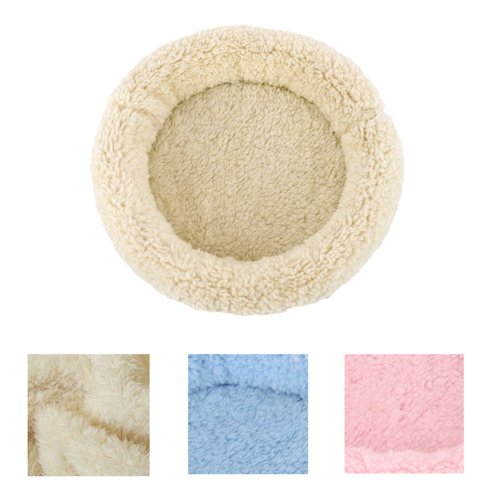 Girl12Queen Soft Plush Pet Bed Winter Small Animal Cage Mat Guinea Pig Hamster Sleeping Bed by 5.28