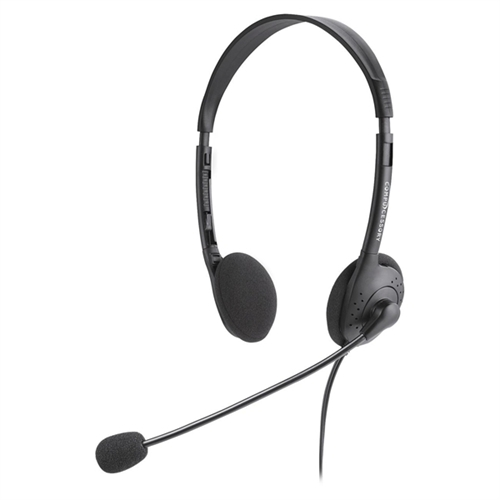 Compucessory Cushioned Stereo Headphones with Volume Control by Compucessory