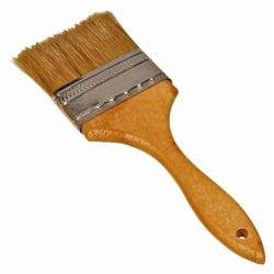 BRUSH UTILITY 3IN. NATURAL BRISTLES WOOD HANDLE 2' Wood Handle Chip Brush