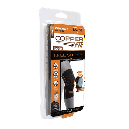 (2 pack) Copper Fit Tough Knees, Large