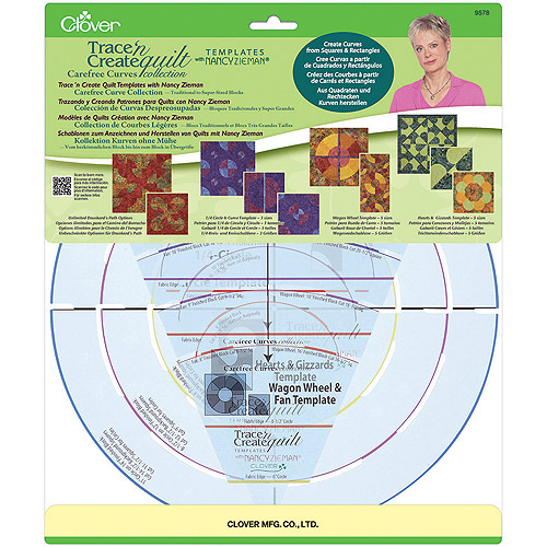 Trace 'n' Create Templates with Nancy Zieman, Carefree Curves Collection