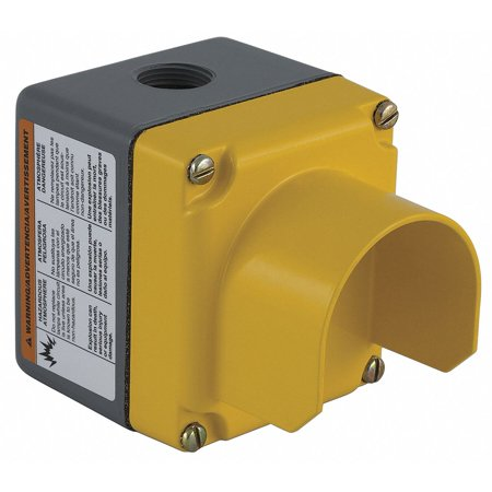 Pushbutton Enclosure, 1, 3, 4, 4X, 12 NEMA Rating, Number of Columns: 1