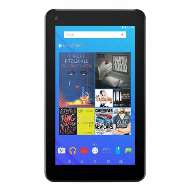Ematic EGQ377RD 7 inch HD Quad Core Tablet 8GB, Red