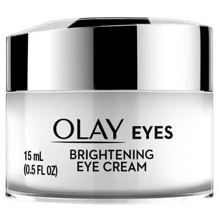 - Olay Eyes Brightening Eye Cream for Dark Circles, 0.5 fl oz