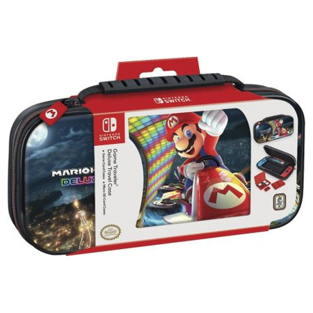 Nintendo Switch Game Traveler Deluxe Travel Case, Mario Kart (NSW)