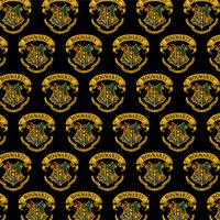 Harry Potter Ilustrated Hogwart's Crest Premium Roll Gift Wrap Wrapping Paper