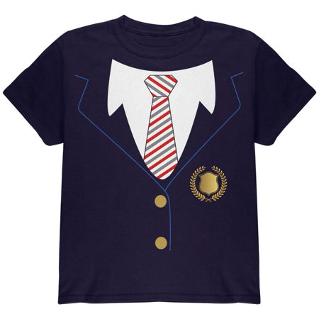 Halloween American School Girl Costume Youth T Shirt (School Girl Halloween Ideas)