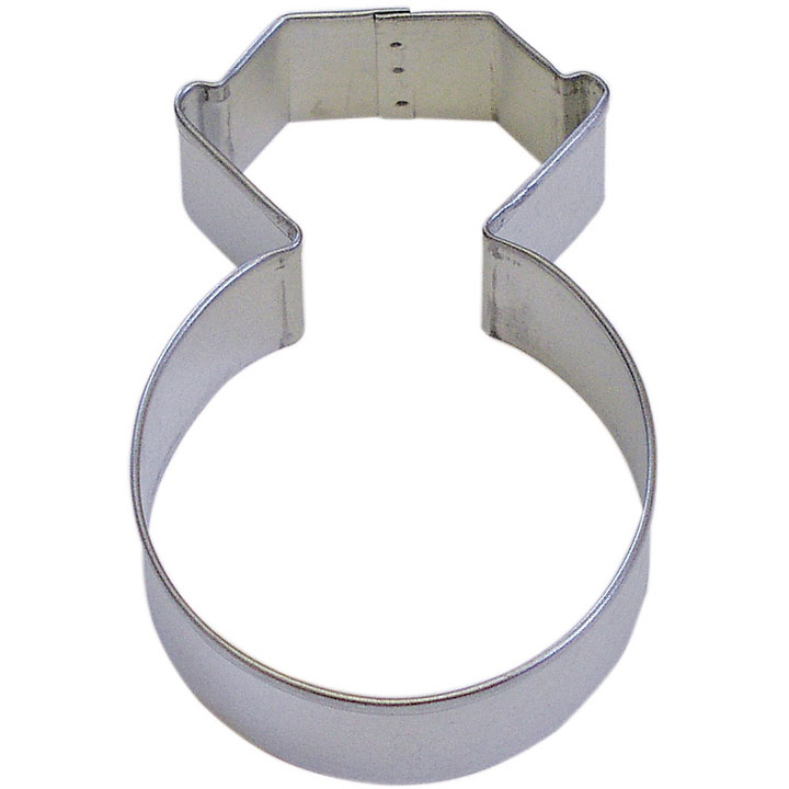 "Wedding Ring Tin Cookie Cutter 4"" B0995"