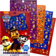 Paw Patrol Sticker Book Sheets Over 300+ for Kids
