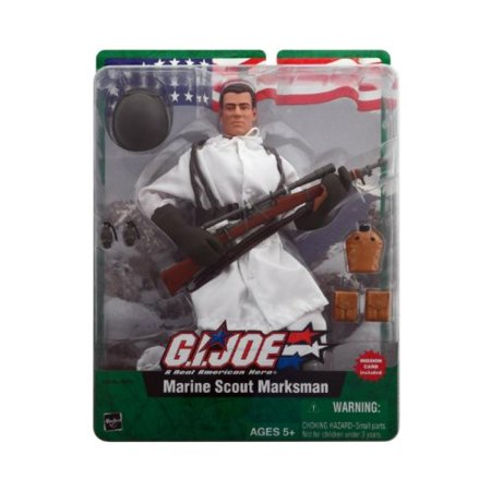 "GI Joe Marine Scout Marksman 12"" Figure"