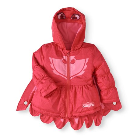 Costume Puffer Jacket Coat (Toddler Girls)