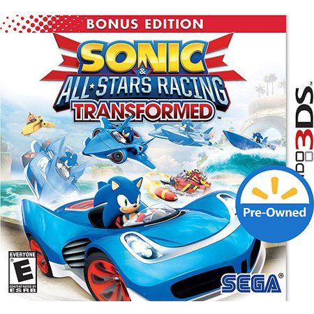 Sonic All Star Racing Transformed Bonus Edition (Nintendo 3DS) - Pre-Owned
