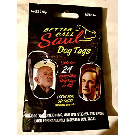 1 pack - Better Call Saul Dog Tag blind pack
