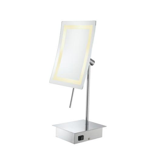 Kimball & Young Kimball & Young Single Sided LED Rectangular Minimalist Vanity Mirror