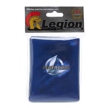 Deck Protector Legendary Marvel Blue 50ct The Upper Company (Deck Protectors)