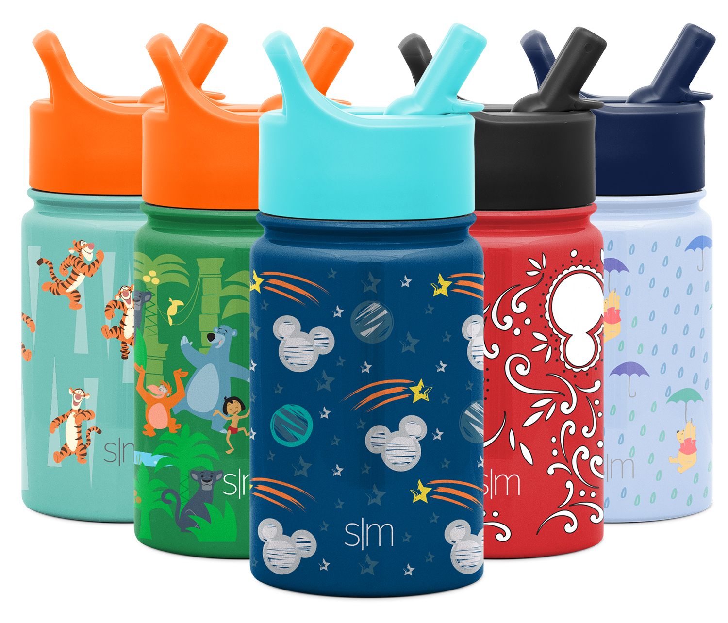 Dishwasher Safe Vacuum Insulated Double Wall Tumbler Travel Cup 18//8 Stainless Steel Simple Modern 10oz Disney Summit Kids Water Bottle Thermos with Straw Lid Minnie Retro Disney