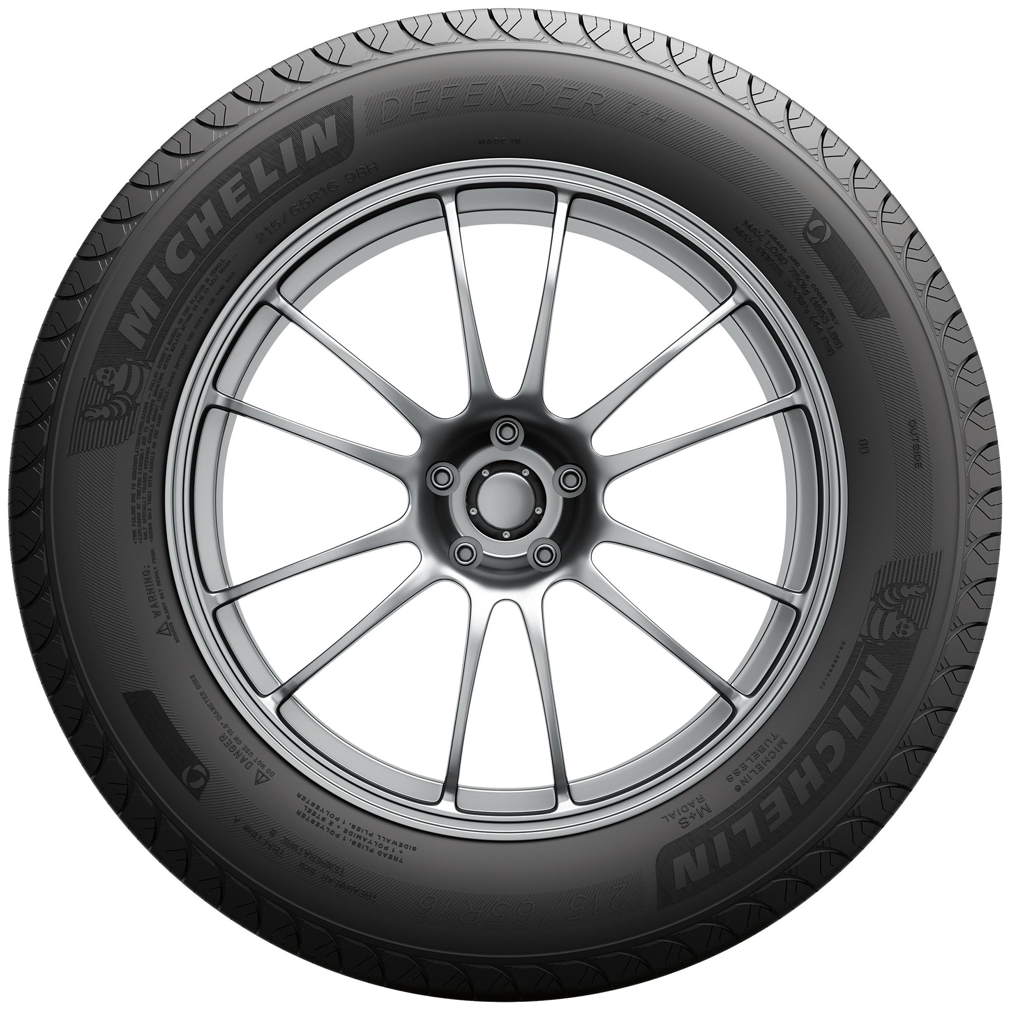 Michelin Defender T H Highway Tire 21560r16 95h