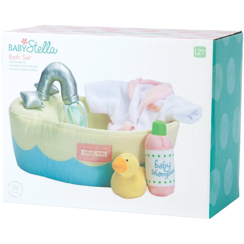 Manhattan Toy Baby Stella Bath Set 15 Doll Accessory