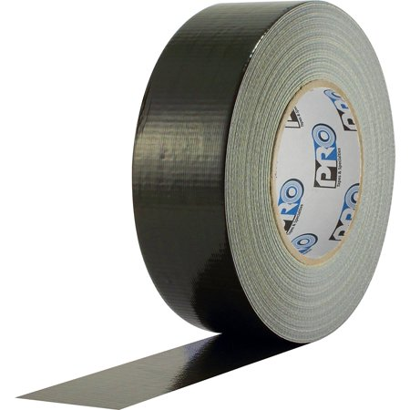 ProTapes Pro Duct 120 PECoated Cloth Premium Industrial Grade Duct Tape, 60 yds Length x 2 Width, Olive Drab Pack of 1