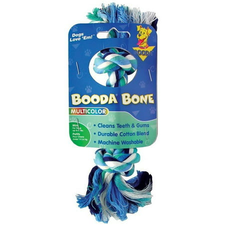 Booda Bone, Two Knot Rope Dog Toy, X-Small