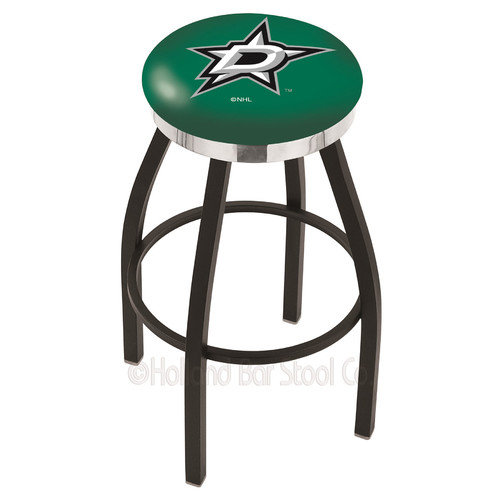 Holland Bar Stool NHL 30'' Swivel Bar Stool with Cushion