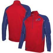 Buffalo Bills New Era Combine Authentic Two-a-Days Half-Zip Jacket - Red