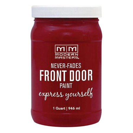 Modern Masters 275268 Front Door Paint PASSIONATE