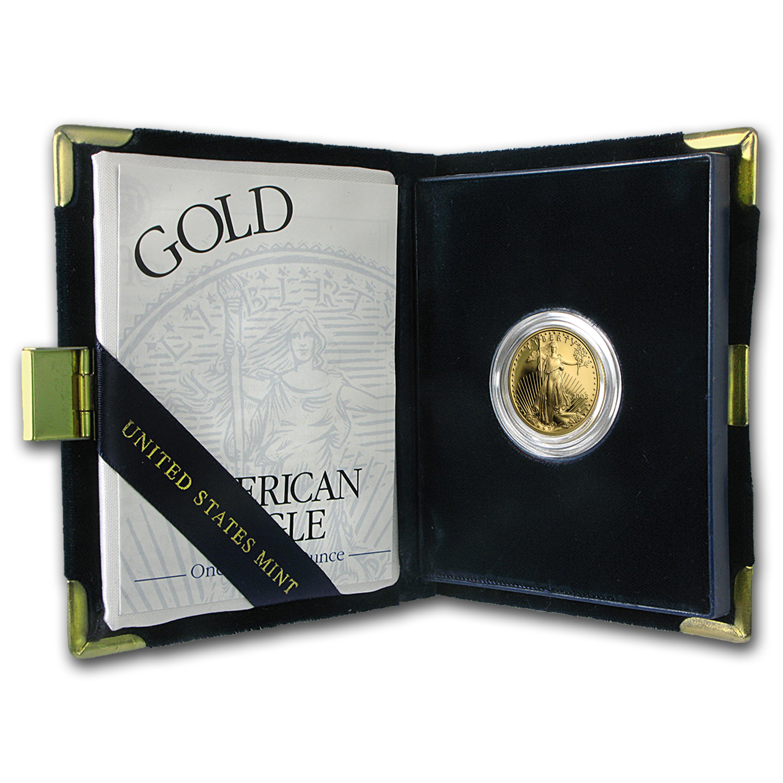 2003-W 1/4 oz Proof Gold American Eagle (w/Box & COA)