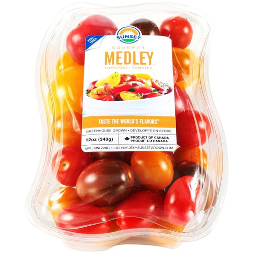 Sunset Gourmet Medley Tomatoes, 12 oz