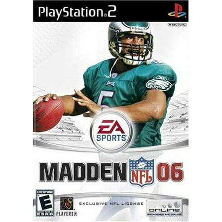 Refurbished Madden NFL 2006 For PlayStation 2 PS2 Football ()