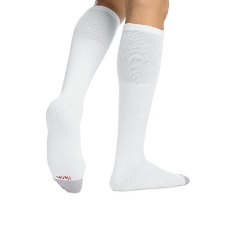 - Hanes Men's Over the Calf Tube Socks 6-Pack - 180 6