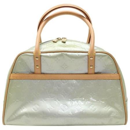 Louis Vuitton Green-Silver Tompkins Square Boston GM 869946