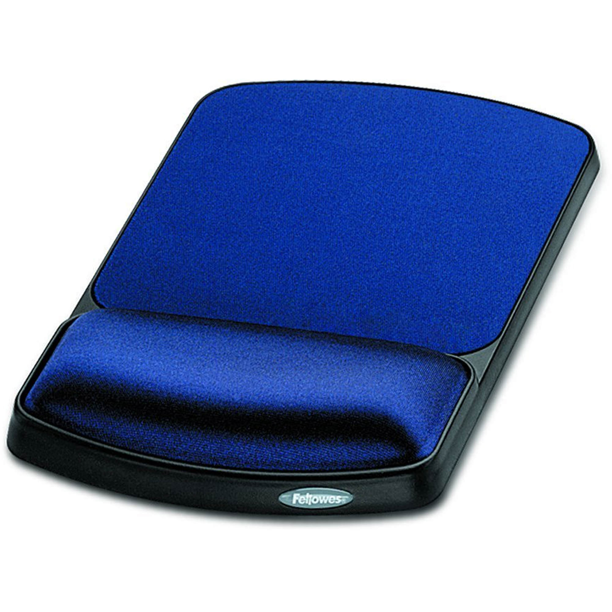 Fellowes Gel Wrist Rest and Mouse Rest - Sapphire