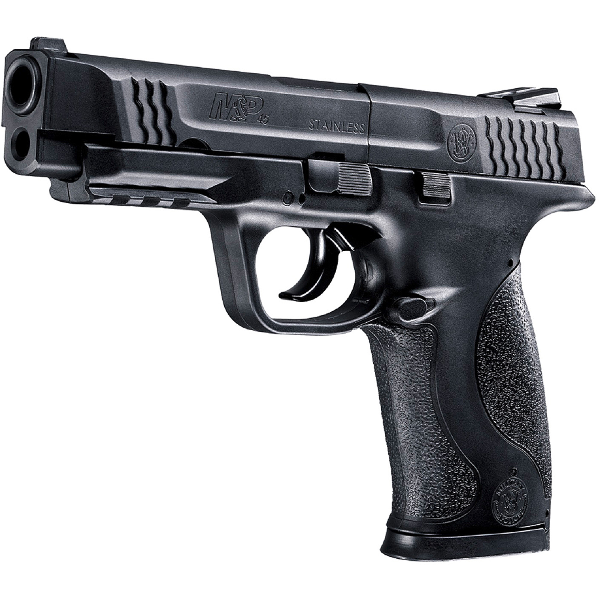 Smith and Wesson M&P 45 Air Gun, CO2 Pellet, Black