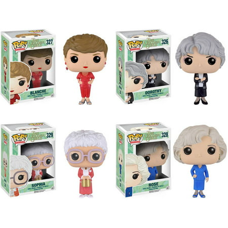 Funko Golden Girls: POP! TV Collectors Set; Sophia, Rose, Blanche, Dorothy
